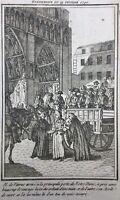 Notre Dame de Paris en 1790 Révolution Française Journal Révolutions de Paris