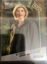 DOCTOR WHO NOW JODIE WHITTAKER TOPPS TRADING  CARD Scarce