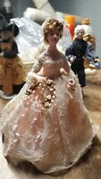 OOAK 1:12 SCALE 18TH CENTURY WOMAN DOLL HOUSE DOLL by Sue Weber