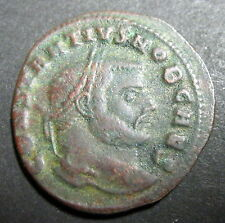 Follis ou Nummus CONSTANCE Ier CHLORE (293-306)