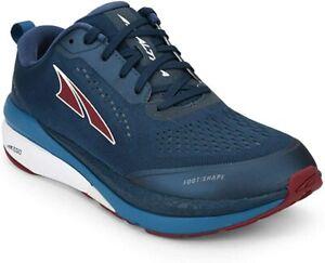 ALTRA Men's Paradigm 5 Road Running Shoe, Blue/Red, 10.5 D(M) US