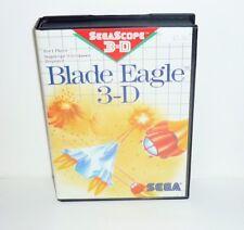 JEU SEGA MASTER SYSTEM COMPLET BLADE EAGLE 3-D