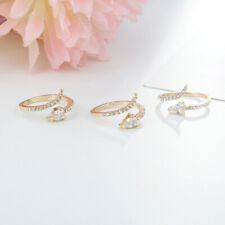 Metal Ring Wedding Party Jewelry J Women Fashion Zircon Ring Ladies Exquisite