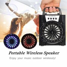 LED Bluetooth Wireless Portatile Casse Speaker USB/TF/AUX/FM Radio Stereo Bass