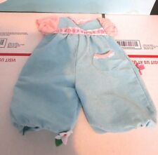 "Cabbage Patch Doll Baby Blue with Pink Body Suit One Piece for 14-16"" Dolls"
