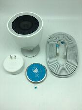 Nest IQ Cam NC4100US Wireless Outdoor Security Camera - White