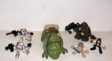 STAR WARS GALACTIC HEROES ESCAPE FROM MOS EISLEY DEWBACK SANDTROOPER LUKE HAN