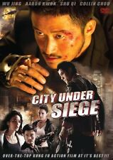 CITY UNDER SIEGE -Hong Kong RARE Kung Fu Martial Arts Action movie  NEW