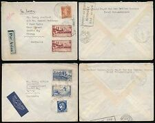 FRANCE to AUSTRALIA 1938 MULTI FRANKINGS 8F75 + 6F25 AIRMAIL PARIS AVIATION PMK