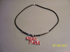 Brand New Linkin Park Metal Logo Rock Band Choker Style Necklace