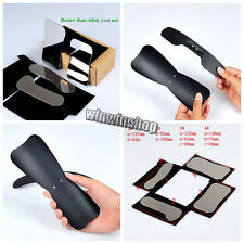 4pcs Dental Clinic Mirror+1L+1S Oral Black Background Board Photography