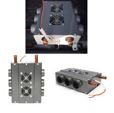 6-Port Double Side Iron Compact Car Heater Heat Fan w/Speed Switch 12V Universal