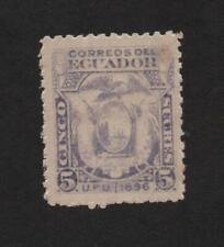 Ecuador 62 (High Value of Set) Mint .. 2021 Scott=$14.00