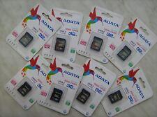 Lot of 8pcs ADATA Premier 32GB SD/SDHC UHS-I Class 10 memory card total 256GB