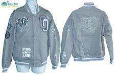NEW NIKE SPORTSWEAR NSW Limited Edition FRESH AIR Twill Varsity Jacket Grey M