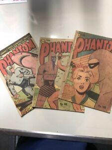 Frew publications - Phantom BULK  Vintage 1960 phantom comic 100s