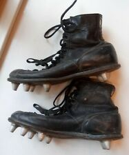 Antique Football Cleats In Vintage