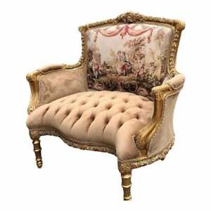 French Louis XVI Corbeille Loveseat