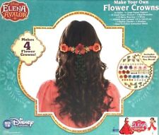 Disney Channel Elena Avalor Make Your Own Flower Crowns Garland 4 Button Charms
