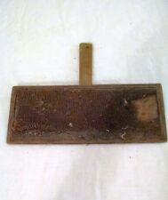 Vintage or Antique Wool Carding Comb / paddle ~ for décor purposes