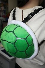 Super Mario Koopa Plush Backpack Green Turtle 11.5 inch Stuffed School Bag US
