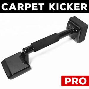 Professional Knee Kicker Stretcher Carpet Fitters Gripper Tool Black