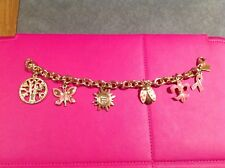 "Lilly Pulitzer ""Positive ""Theme Charm Bracelet,  Excellent Cond.  Great buy&free"
