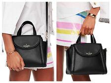 NEW Kate Spade Cobble Hill Small Adrien Satchel Black crossbody handbag NWT
