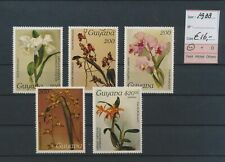 LM39723 Guyana 1988 flowers nature fine lot MNH cv 16 EUR