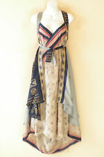 "X455 PLUS SIZE Vintage Silk Magic 36"" Wrap Skirt Halter Tube Maxi Dress + DVD"