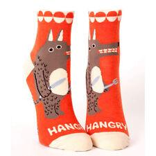 Blue Q Women's Ankle Socks - Cotton - Hangry