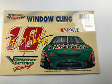 """Vintage Bobby Hart 18 Racing Window Cling Decal Car Glass WinCraft 8.5""""X4.5"""""""