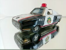 1960's hero toy  Mercedes police patlor P. D no 1 Tin Toy car JAPAN Friction