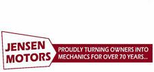 Jensen Mechanics Sticker - Interceptor GT Healey