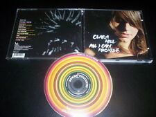 "Clara Hill  ‎""All I Can Provide"" CD Sonar Kollektiv ‎– SK099CD"