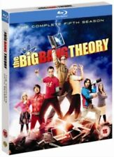 THE BIG BANG THEORY SEASON 5 BLU RAY NEW SEALED WITH EXTRAS SERIES FIVE FIFTH