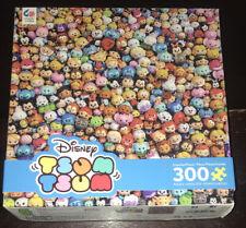 NEW SEALED Ceaco 300 Piece Jigsaw Puzzle Disney TSUM TSUM FREE SH Mickey Toy Pan