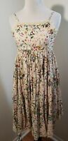 Girl's  Spring or Summer Dress  Chasing fireflies Size 10  Cottagecore  Floral