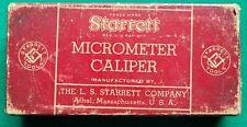 Starrett No436 0 1 Outside Micrometer