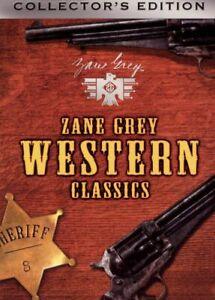 Zane grey western classics- 4 disc set (DVD ) Very RARE Out of Print