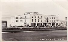 CANADA ONTARIO COCHRANE ALBERT HOTEL POSTED SEPTEMBER 2 1953 TO LANSING MICHIGAN