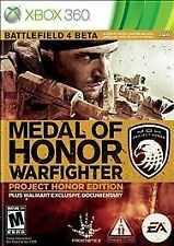 Xbox 360 : Medal of Honor Warfighter Project Honor VideoGames