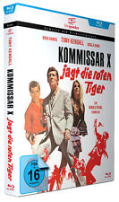 Kommissar X jagt die roten Tiger - Regie: Dr. Harald Reinl - Filmjuwelen BLU-RAY