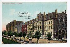 CANADA carte postale ancienne OTTAWA wellington street