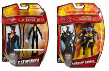 DC COMICS MULTIVERSE ARKHAM CITY & ORIGINS CATWOMAN & KNIGHTFALL BATMAN SET