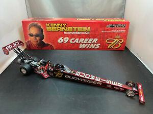 Action Kenny Bernstein Budweiser 2003 Dragster 69 Career Wins 1/24 Diecast NHRA