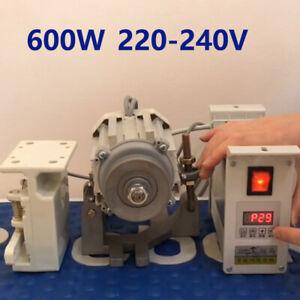 600W Energy Saving Mute Split Servo Motor for Industrial Sewing Machine 220-240V