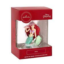 Hallmark Disney Ariel w Shell Little Mermaid Christmas Tree Holiday Ornament