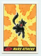 2012 Topps Heritage Mars Attacks! Sketch Cards 1/1 Artists Greg Moutafis TH905