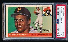 1955 Topps ROBERTO CLEMENTE RC #164 PSA 3 - No Creases